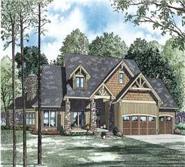 House Plan #153-1123