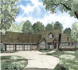 House Plan #153-1124