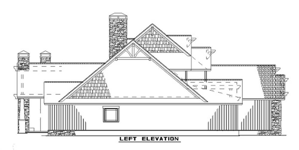 153-1126 house plan left