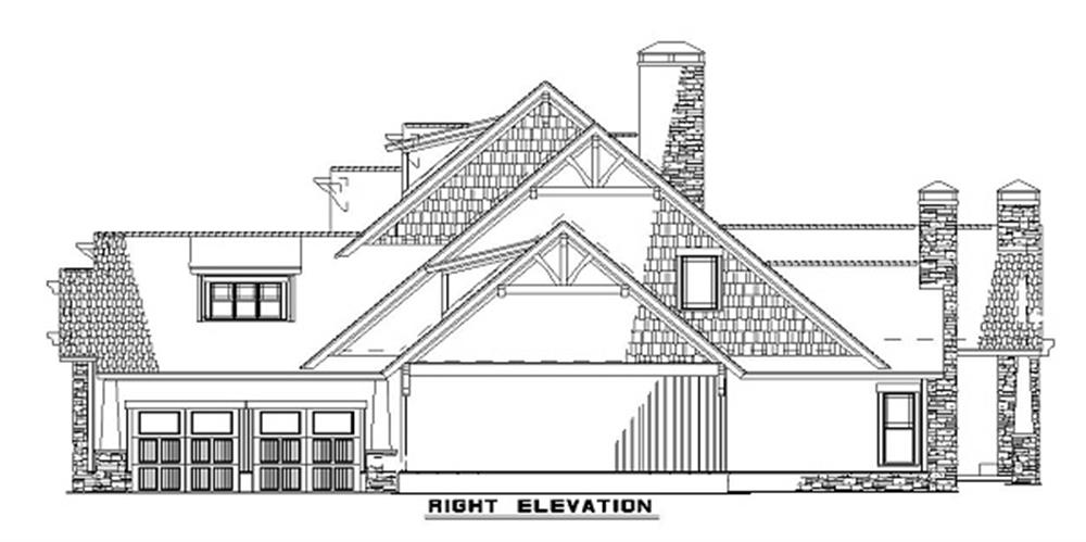153-1126 house plan right