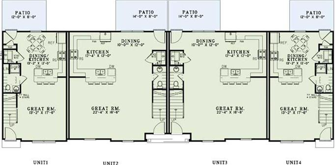 Apartment building blueprints apartment complex blueprints for Apartment complex blueprints