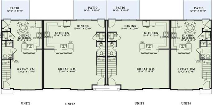 Image Gallery Apartment Blueprints