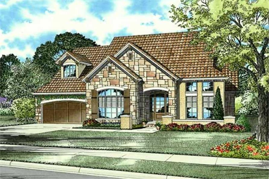 Main image for house plan # 16894