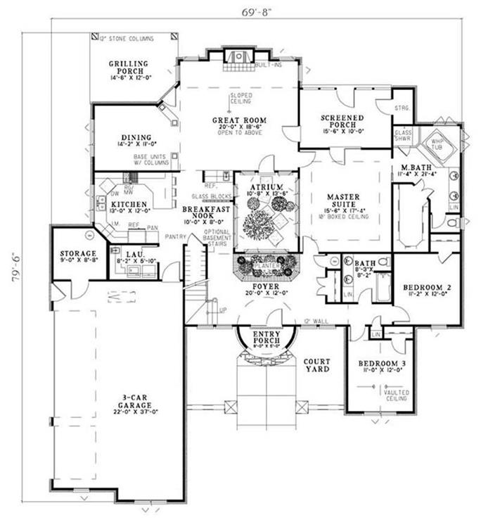 Traditional, Country, European, Tuscan House Plans - Home Design ...