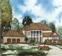 House Plan #153-1143