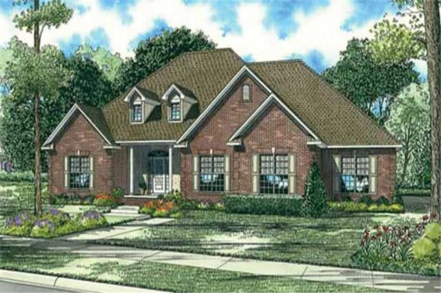 Main image for house plan # 16884
