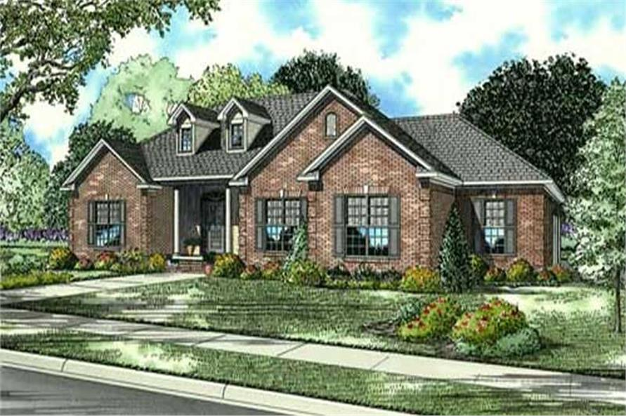 Main image for house plan # 16881