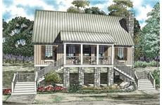 These Southern House Plans/ Country House Plans have a great exterior.