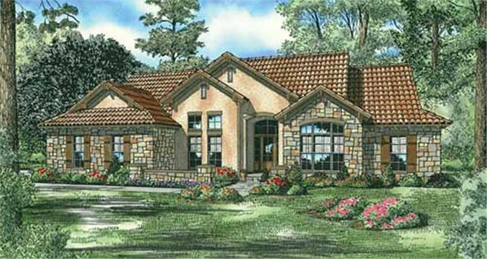 Main image for house plan # 16900