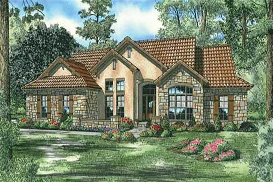 Tuscan stucco house plans home design and style for Stucco home plans