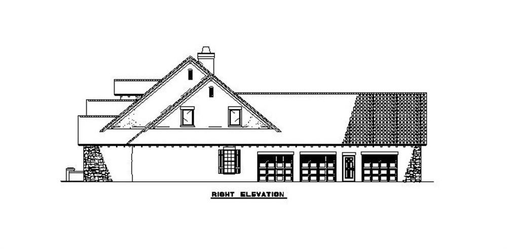 153-1153 right elevation