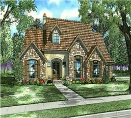 House Plan #153-1153