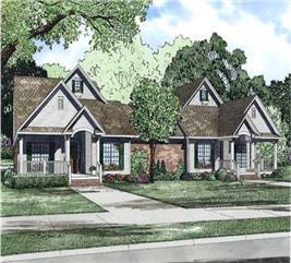 House Plan #153-1158