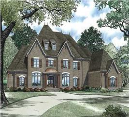 House Plan #153-1159