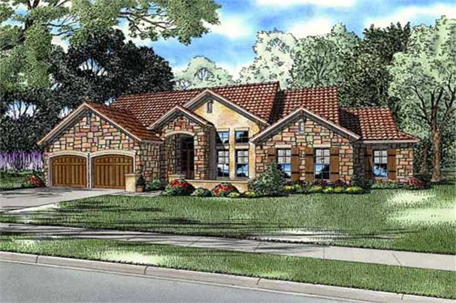 Main image for house plan # 16893