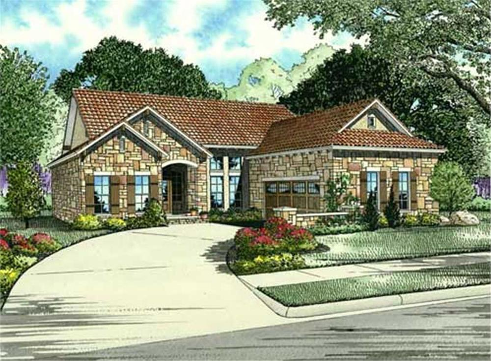 Main image for house plan # 16889