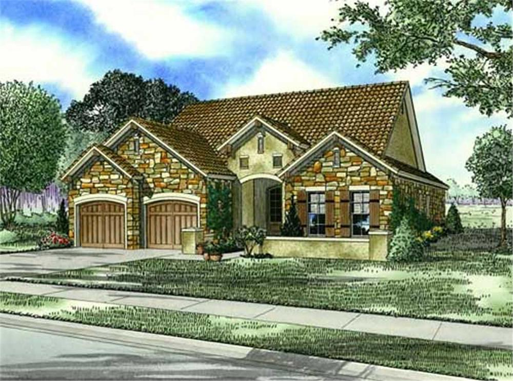 Main image for house plan # 16888