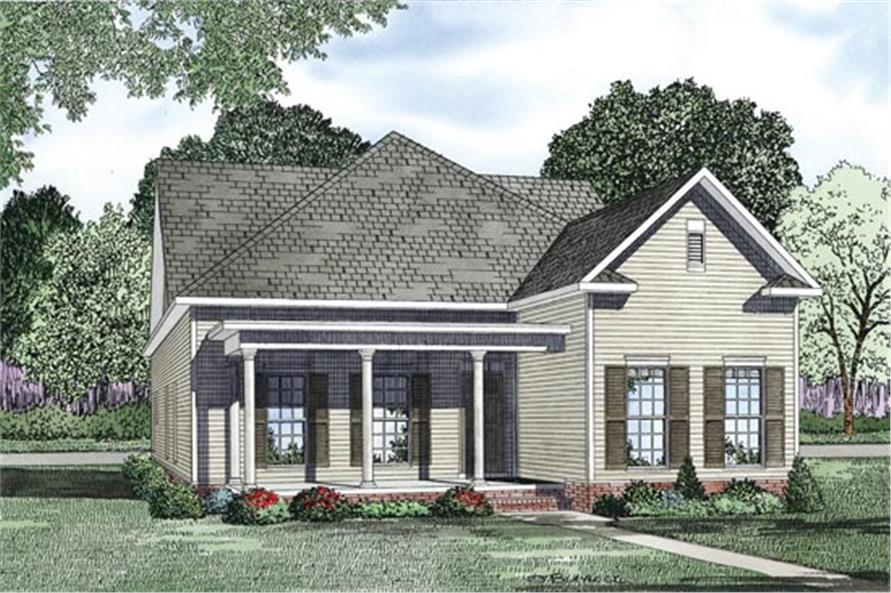 153-1167: Home Plan Rendering