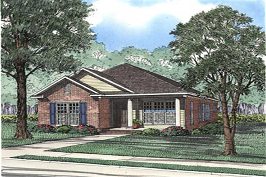 Main image for house plan # 3915