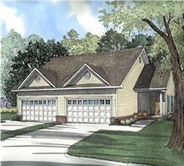 House Plan #153-1173