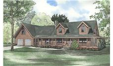 Main image for house plan # 5106