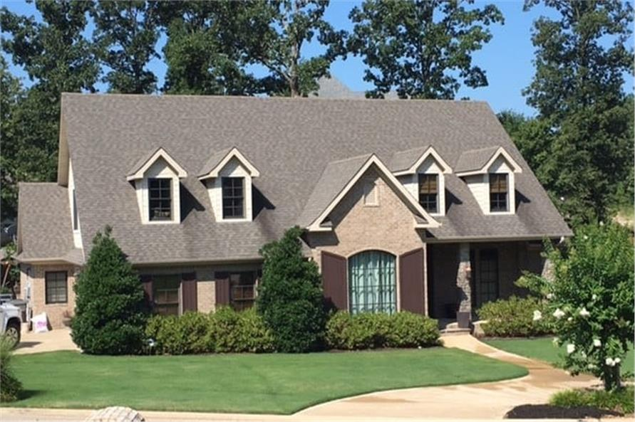 Front View of this 4-Bedroom,2624 Sq Ft Plan -153-1176