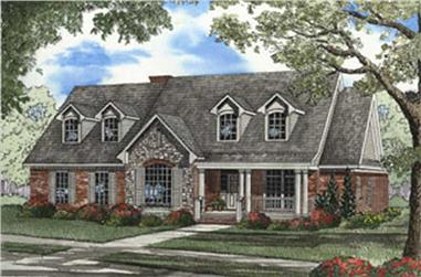 Main image for house plan # 3808