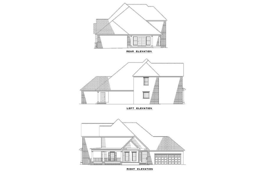 Home Plan Other Image of this 4-Bedroom,2676 Sq Ft Plan -153-1178