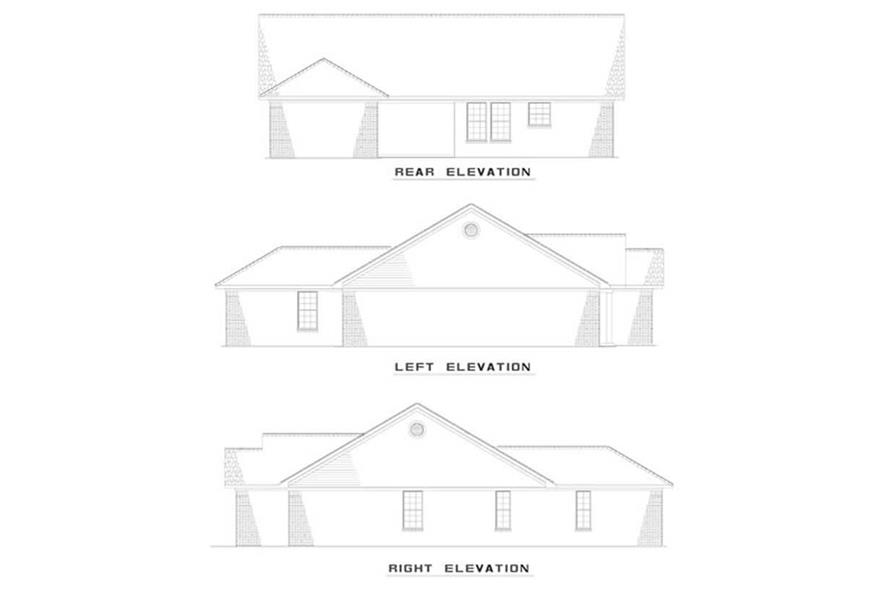 Home Plan Other Image of this 3-Bedroom,1344 Sq Ft Plan -153-1180