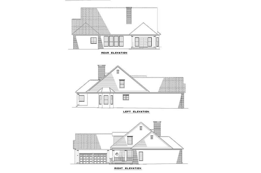 Home Plan Other Image of this 4-Bedroom,2777 Sq Ft Plan -153-1183