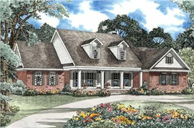 5-Bedroom, 3419 Sq Ft Luxury Home Plan - 153-1189 - Main Exterior