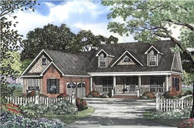4-Bedroom, 2685 Sq Ft Southern Home Plan - 153-1190 - Main Exterior