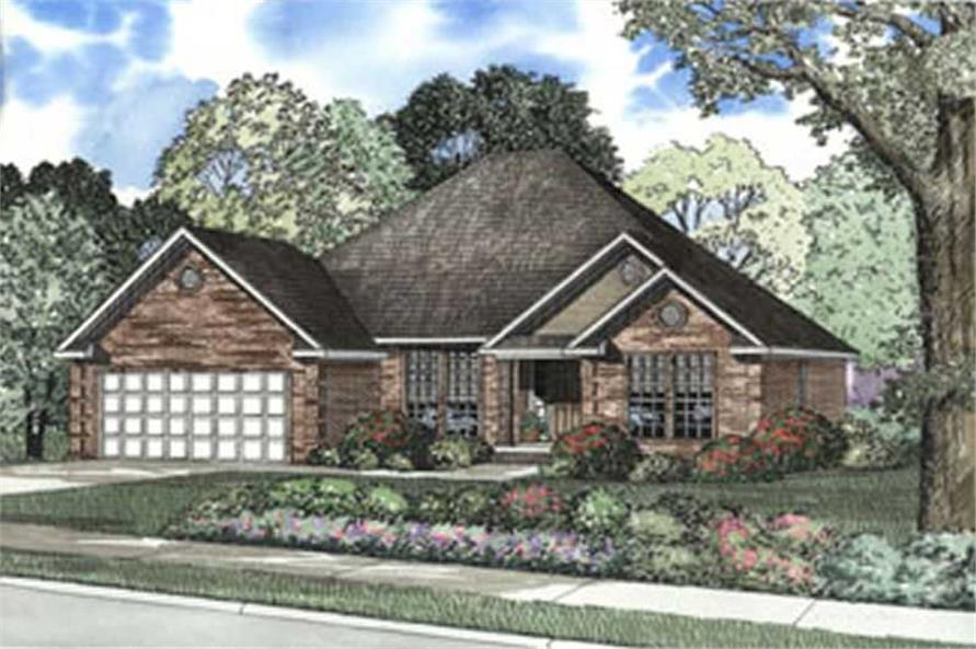 Main image for house plan # 3719