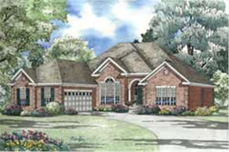 Main image for house plan # 3718