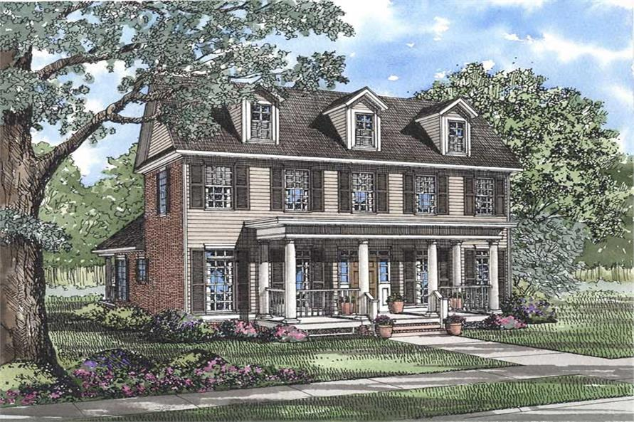 Main image for house plan # 3701