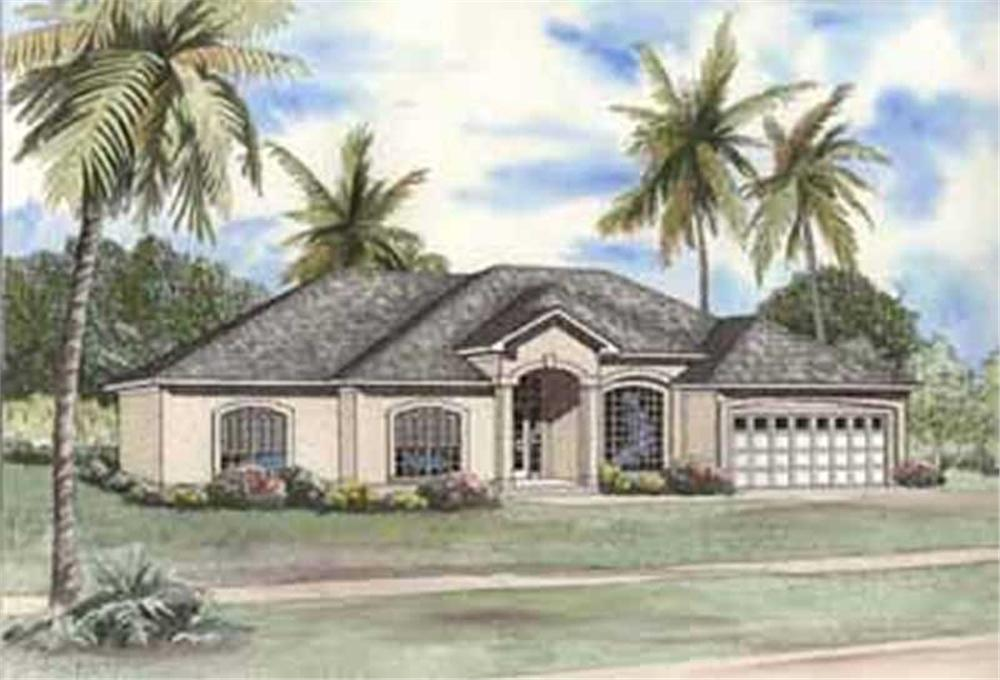 Main image for house plan # 3711