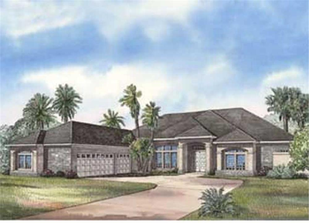 Main image for house plan # 3709
