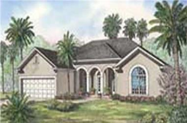 Main image for house plan # 3706