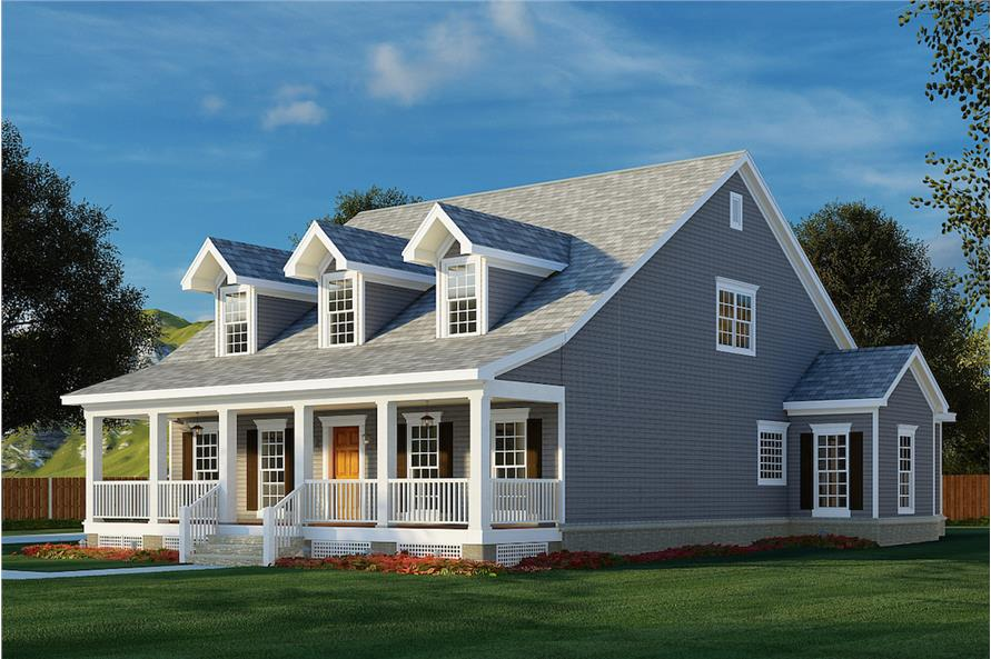 Right View of this 4-Bedroom,2186 Sq Ft Plan -153-1206