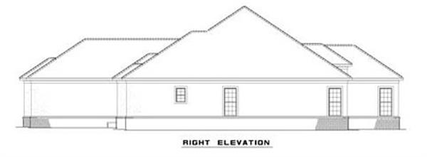 153-1209: Home Plan Right Elevation
