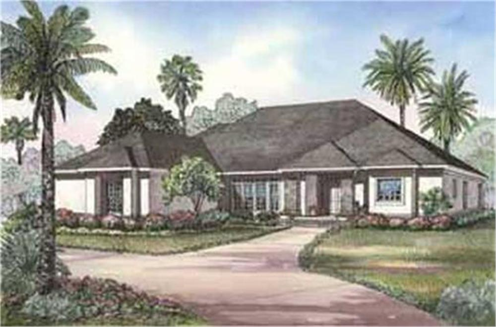 153-1209: Home Plan Rendering