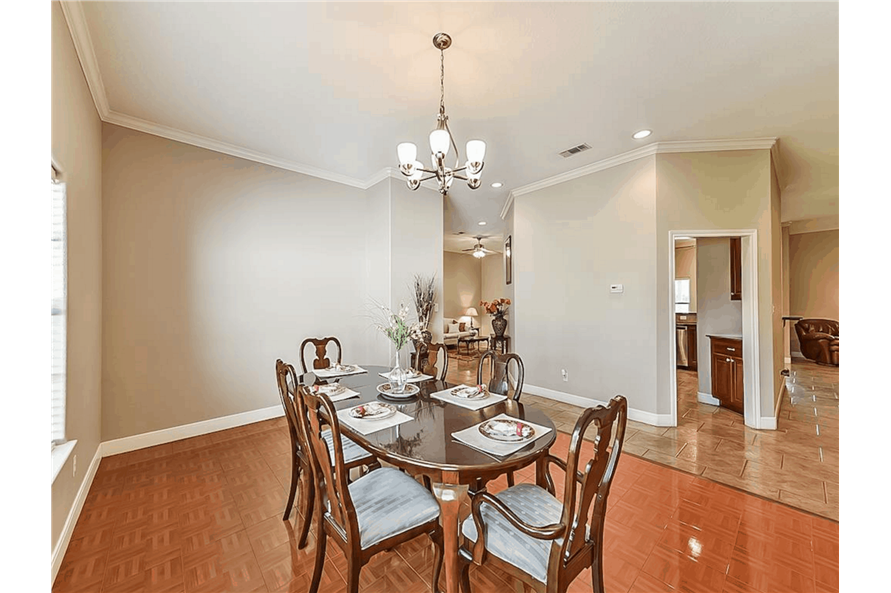 Dining Room of this 4-Bedroom,3021 Sq Ft Plan -153-1209