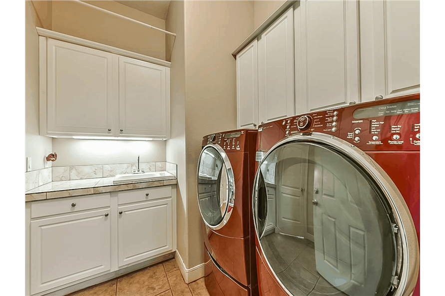 Laundry Room of this 4-Bedroom,3021 Sq Ft Plan -153-1209