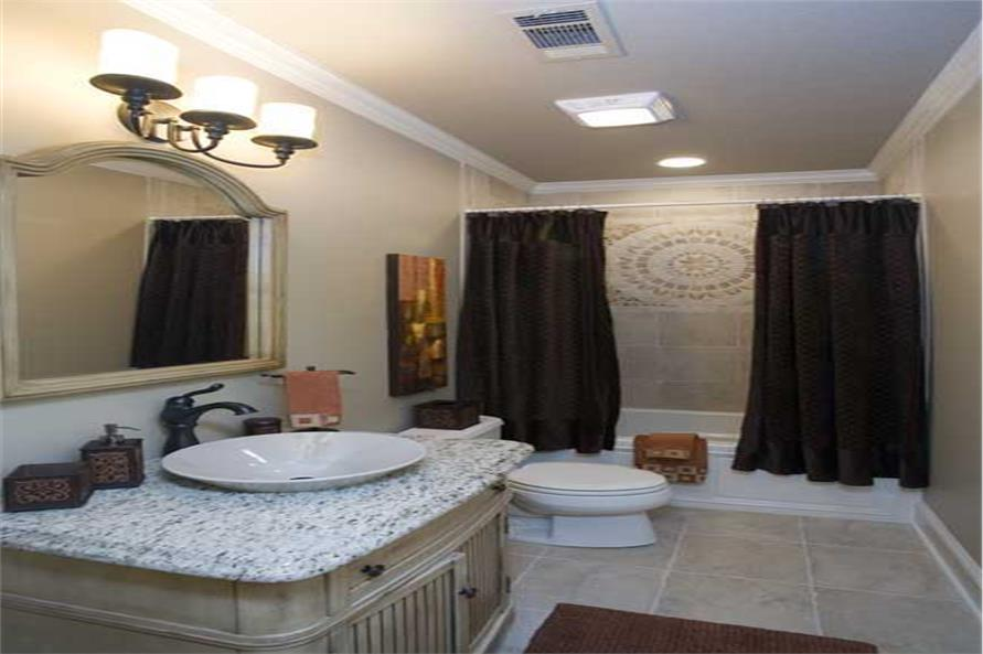 Bathroom of this 4-Bedroom,2525 Sq Ft Plan -153-1210