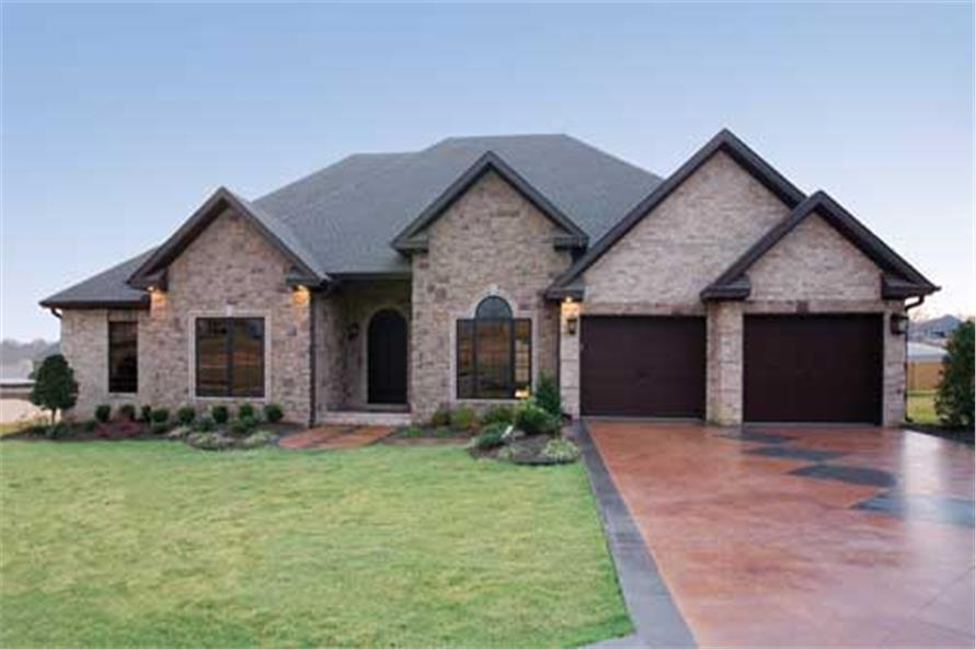 Marvelous #153 1210 · 4 Bedroom, 2525 Sq Ft Southern House Plan   153 1210   Front