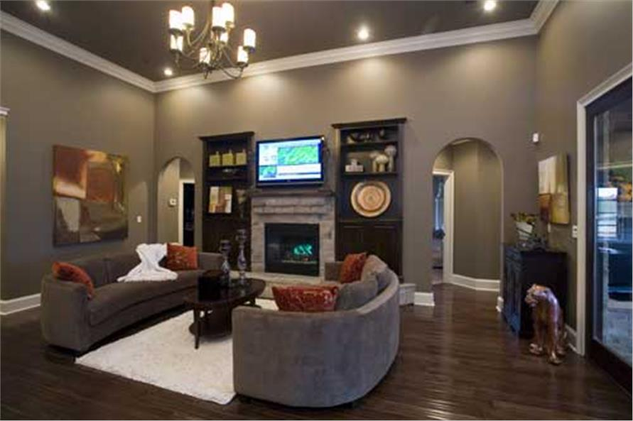 Great Room of this 4-Bedroom,2525 Sq Ft Plan -153-1210