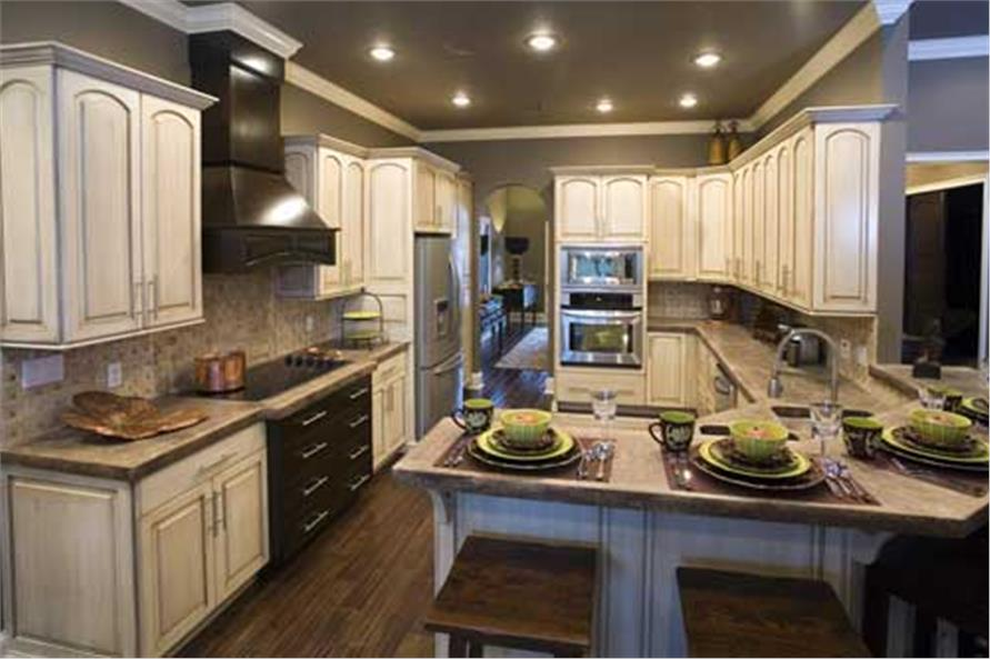 Kitchen of this 4-Bedroom,2525 Sq Ft Plan -153-1210
