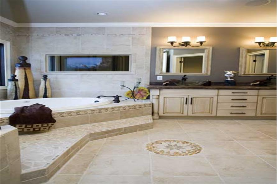 Master Bathroom of this 4-Bedroom,2525 Sq Ft Plan -153-1210