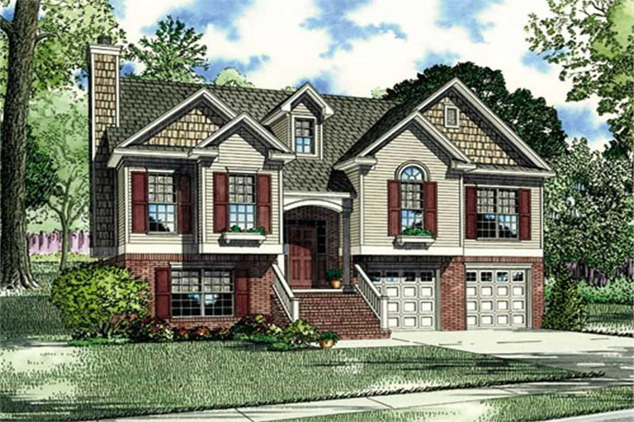 Main image for house plan # 3901