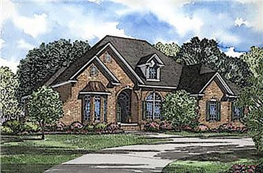 4-Bedroom, 2606 Sq Ft European Home - #153-1213 - Main Exterior